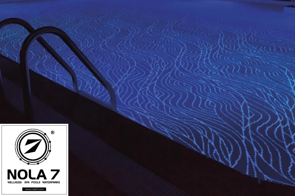 Насладете се на нощен басейн с плисък светлина с новата мозайка на Onix!