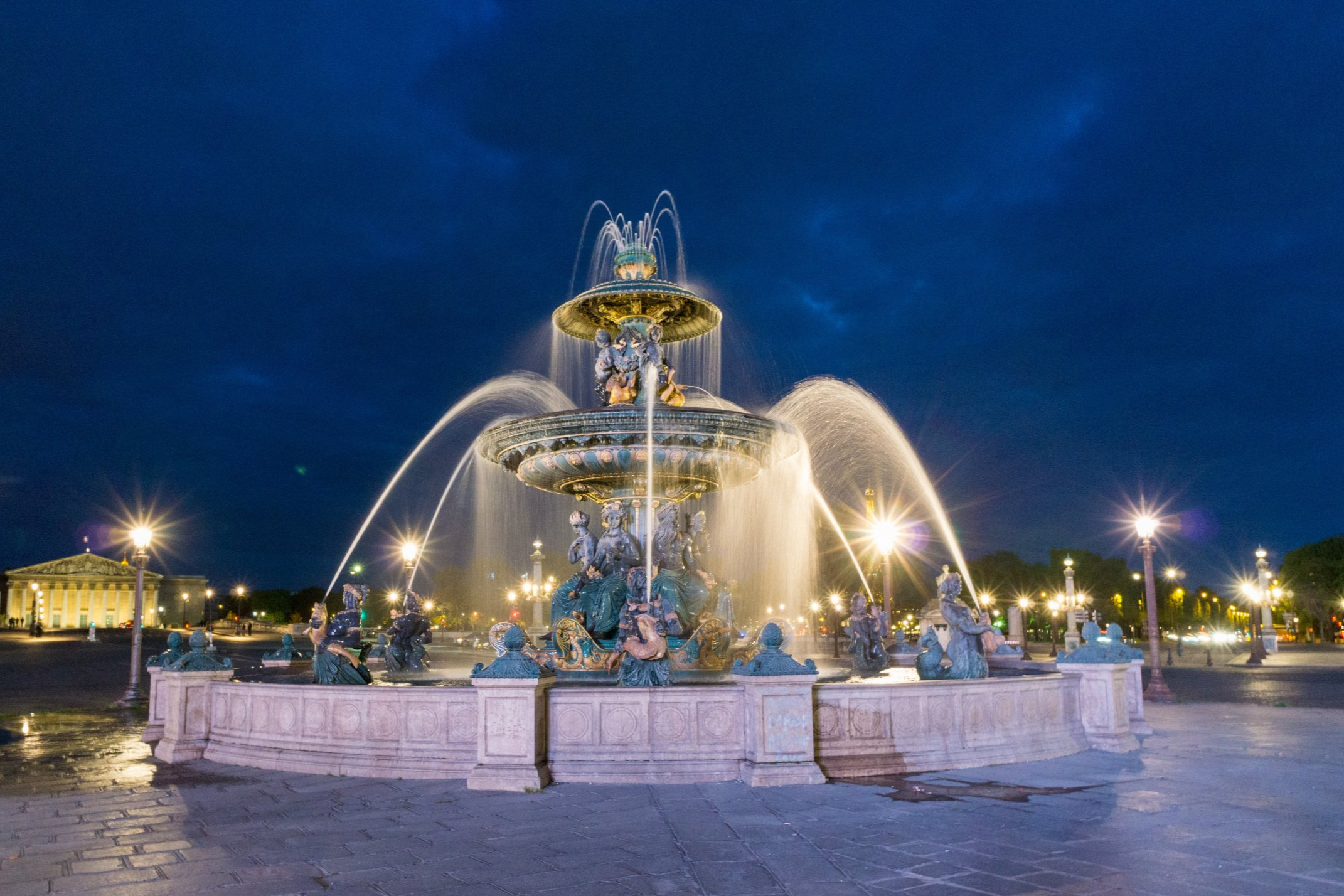 Декоративни фонтани