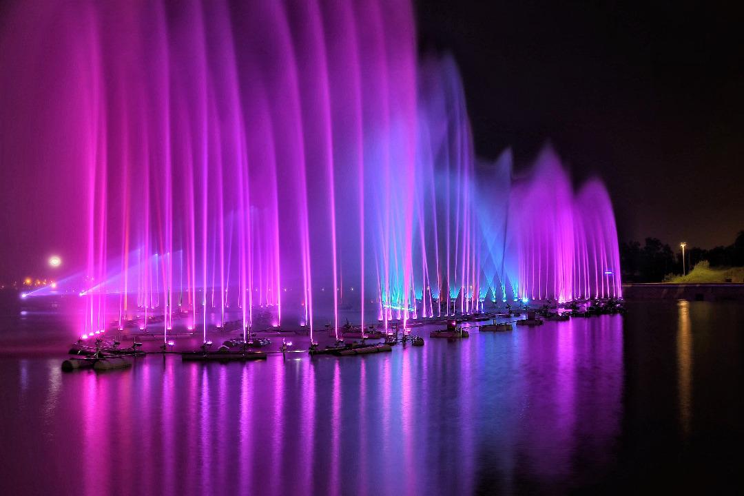 Мултимедийни фонтани
